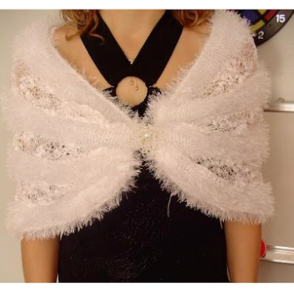 RENA Accessories - Rena Hand Made Ladies Knit The Shawl, Sleek Access